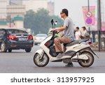 Beijing July 27  2015. Man On...