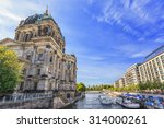 Stock photo berlin cathedral or berlin dom berlin germany 314000261