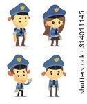 police officers | Shutterstock .eps vector #314011145