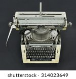 old typewriter | Shutterstock . vector #314023649