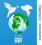 international peace day vector... | Shutterstock .eps vector #314028821