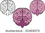brain | Shutterstock .eps vector #31403473