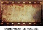 grunge film strip background | Shutterstock . vector #314053301