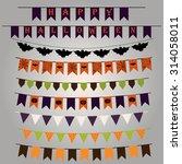 vector collection of halloween... | Shutterstock .eps vector #314058011