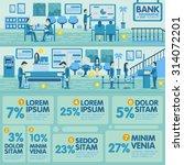 bank office info graphic... | Shutterstock .eps vector #314072201