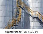 metallic tanks | Shutterstock . vector #31413214
