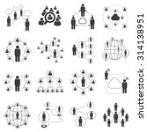 people network icons ... | Shutterstock .eps vector #314138951