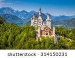 beautiful view of world famous... | Shutterstock . vector #314150231