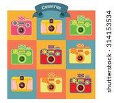 camera vintage | Shutterstock .eps vector #314153534