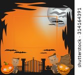 halloween vector illustration | Shutterstock .eps vector #314164391