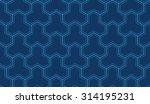 seamless navy blue enhanced... | Shutterstock . vector #314195231