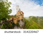 view of the lichtenstein... | Shutterstock . vector #314220467