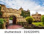 schloss lichtenstein gates to... | Shutterstock . vector #314220491