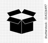 box   vector icon | Shutterstock .eps vector #314226497