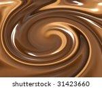 image of nice milk and dark... | Shutterstock . vector #31423660