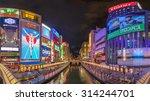 osaka  japan   august 16  2015  ... | Shutterstock . vector #314244701