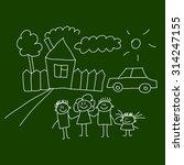 blackboard. school. seamless... | Shutterstock . vector #314247155