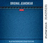 jeans texture blue color with...   Shutterstock .eps vector #314255231