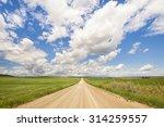 Landscape Of An Alberta Prairi...