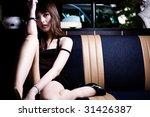closeup young beautiful sexy... | Shutterstock . vector #31426387