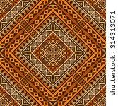 tribal ethnic textile pattern... | Shutterstock .eps vector #314313071