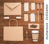 coffee identity branding.... | Shutterstock . vector #314316464