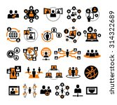 vector social people network... | Shutterstock .eps vector #314322689