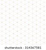 vector seamless pattern. modern ... | Shutterstock .eps vector #314367581