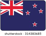a flat design flag illustration ... | Shutterstock .eps vector #314383685