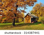 Small Wooden Church In The...