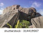 Boulders Granite Black Rocks...