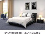 bedroom interior. 3d... | Shutterstock . vector #314426351
