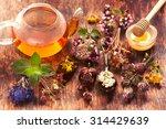 Herbal Tea  Herbs And Flowers