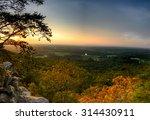 Sunset Panorama On Sawnee...