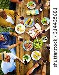 friends friendship outdoor... | Shutterstock . vector #314435681
