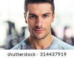 closeup portrait of a handsome... | Shutterstock . vector #314437919