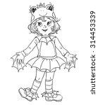 frog costume | Shutterstock . vector #314453339