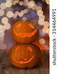 holidays  halloween and... | Shutterstock . vector #314464991