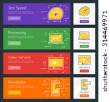 test speed. processing. video... | Shutterstock .eps vector #314469971