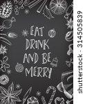 christmas party invitation... | Shutterstock .eps vector #314505839