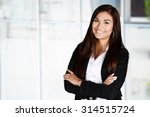 business woman at the office...   Shutterstock . vector #314515724