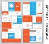 set of business data... | Shutterstock .eps vector #314518685