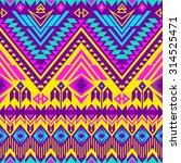 tribal navajo seamless summer...   Shutterstock .eps vector #314525471