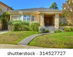 california dream houses and... | Shutterstock . vector #314527727