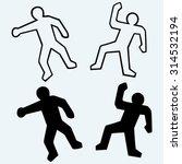 crime scene illustration....   Shutterstock .eps vector #314532194