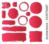 hand drawn abstract make up...   Shutterstock .eps vector #314570687