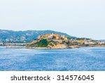 medieval town of calvi on... | Shutterstock . vector #314576045
