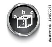 white trigonometry symbol on... | Shutterstock .eps vector #314577095