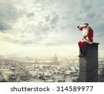 on the chimney | Shutterstock . vector #314589977