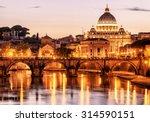 Night View Of San Pietro  Sain...